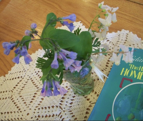 Hidden Art of Homemaking, wildflowers