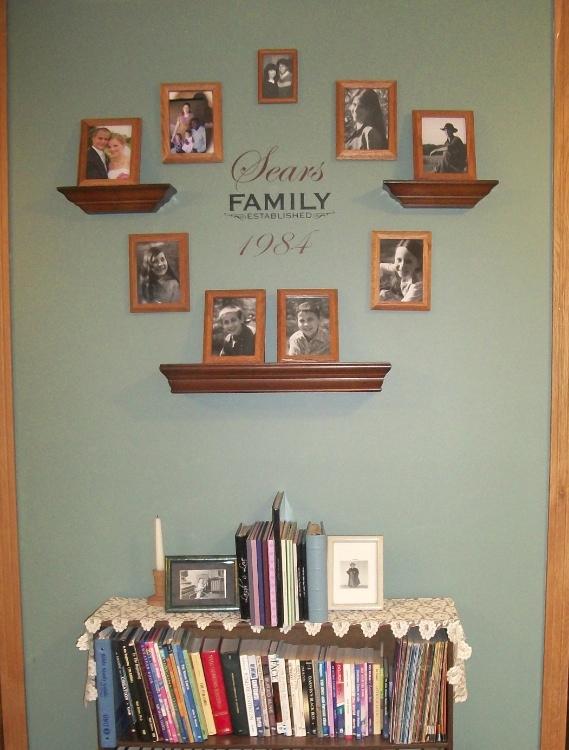 living room family gallery