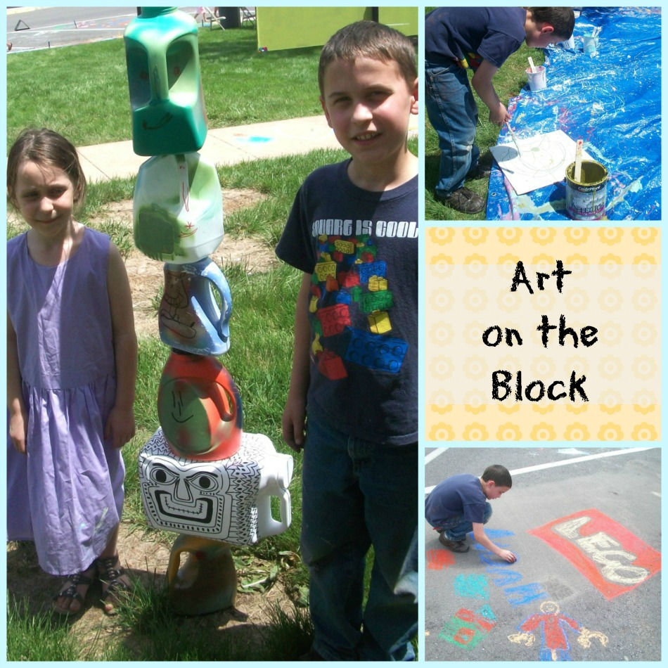 Art on the Block Collage