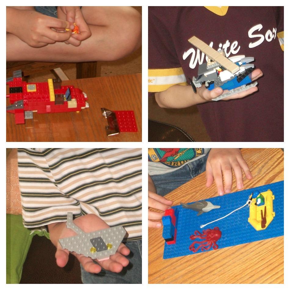 Lego Club Collage