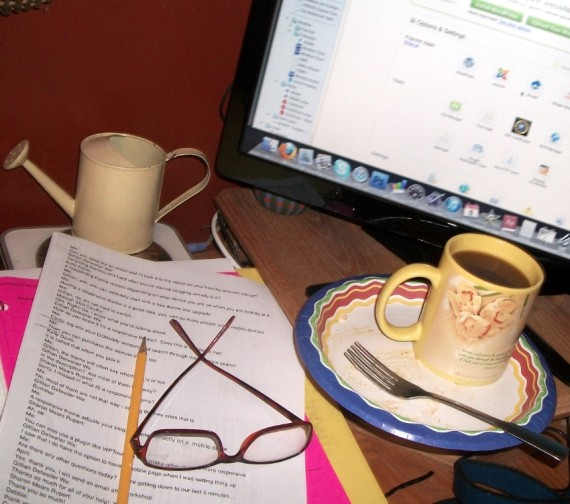 writing/blogging - Apron Strings & other things