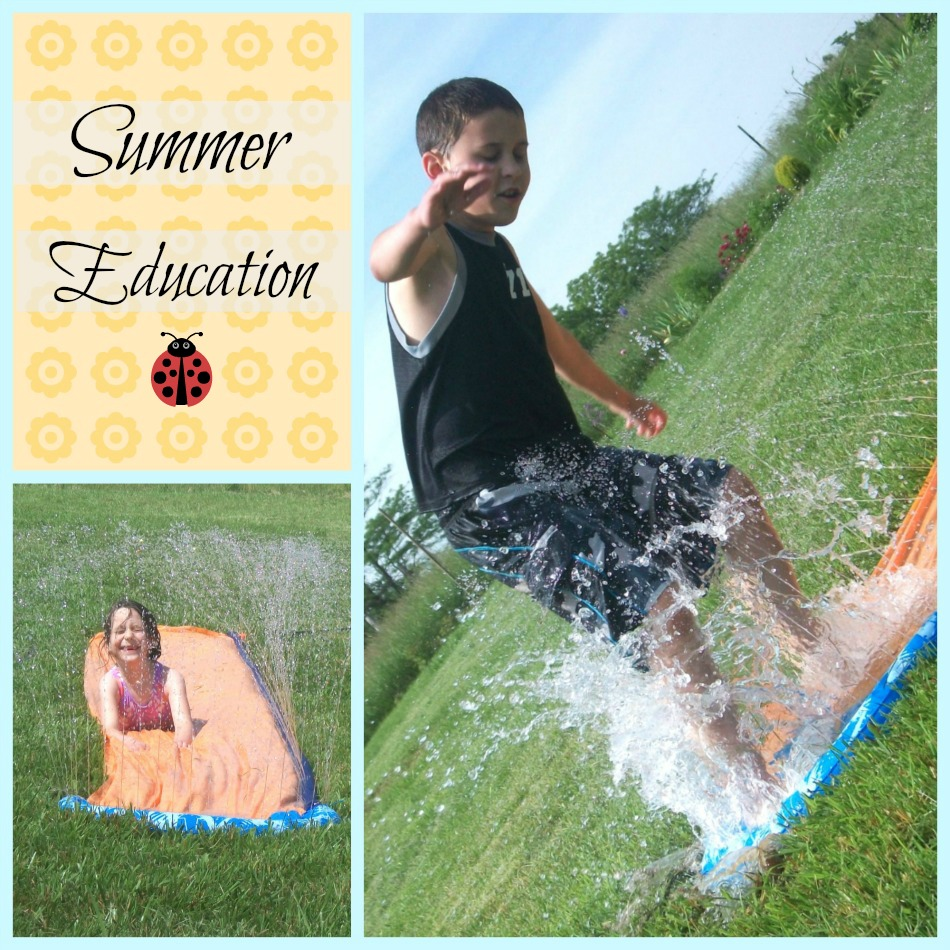 Summer Education Collage