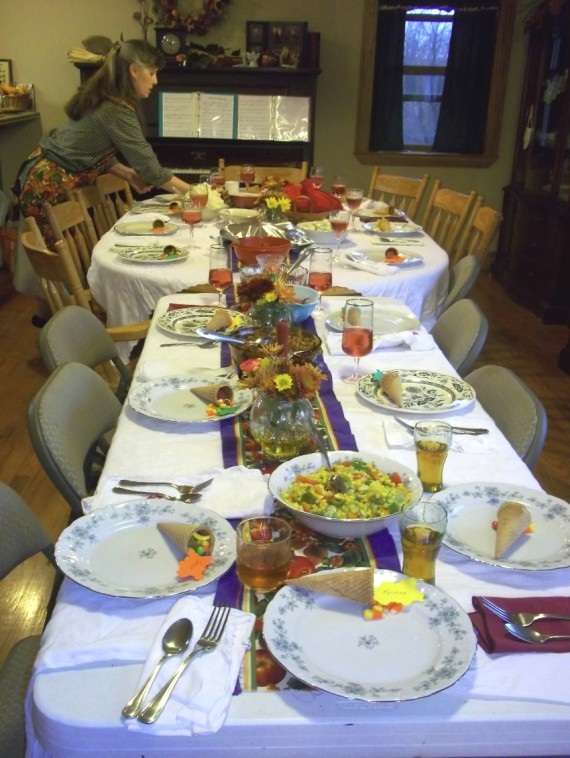Thanksgiving Table - Apron Strings & other things