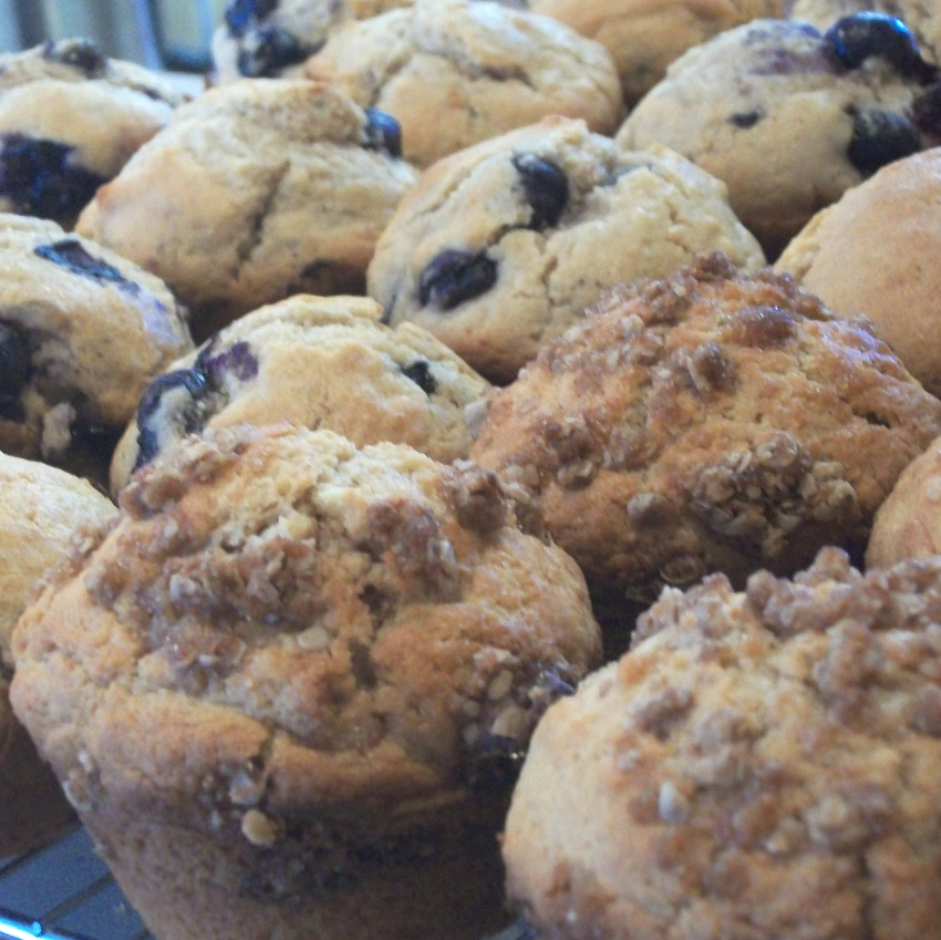Fresh Homemade Muffins - Apron Strings & other things