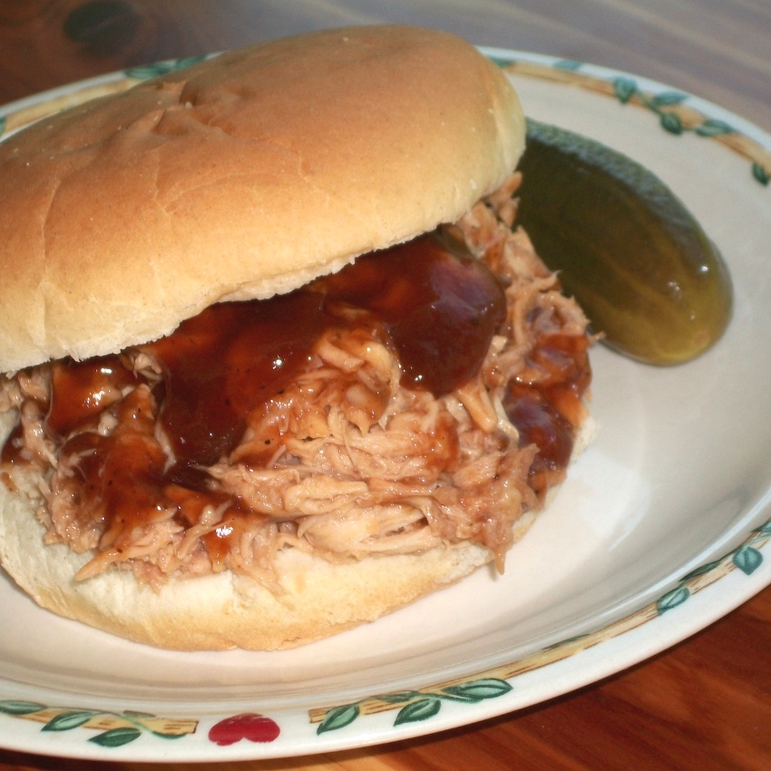 BBQ chicken sandwich - Apron Strings & other things