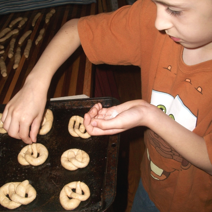 homemade pretzels - Apron Strings & other things