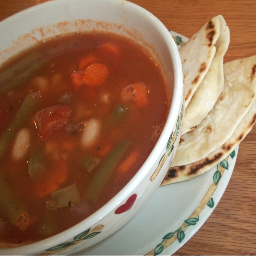 Vegetable Beef Soup - Apron Strings & other things