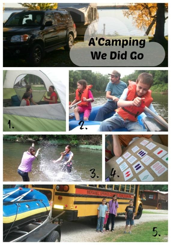 Camping Vacation Fun 1
