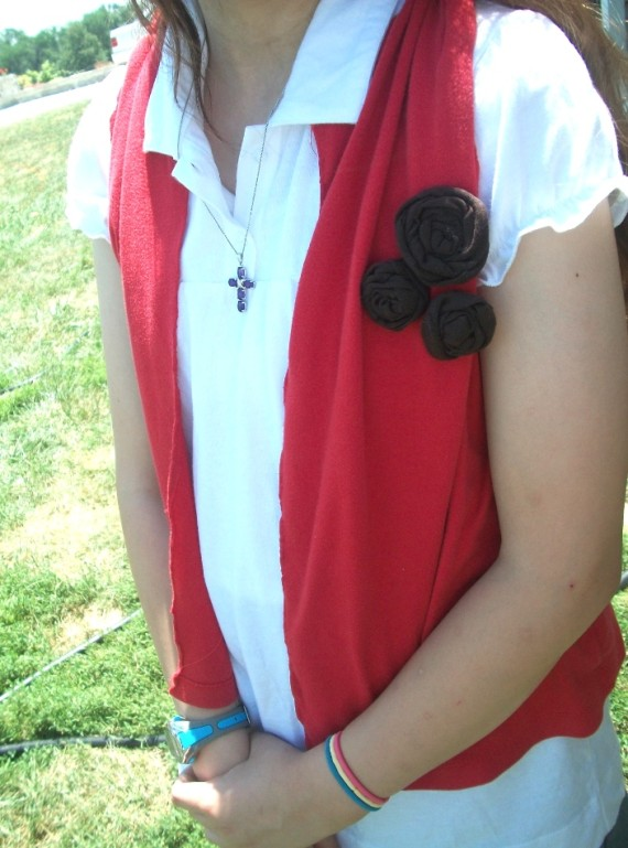 T shirt Vest - Apron Strings & other things