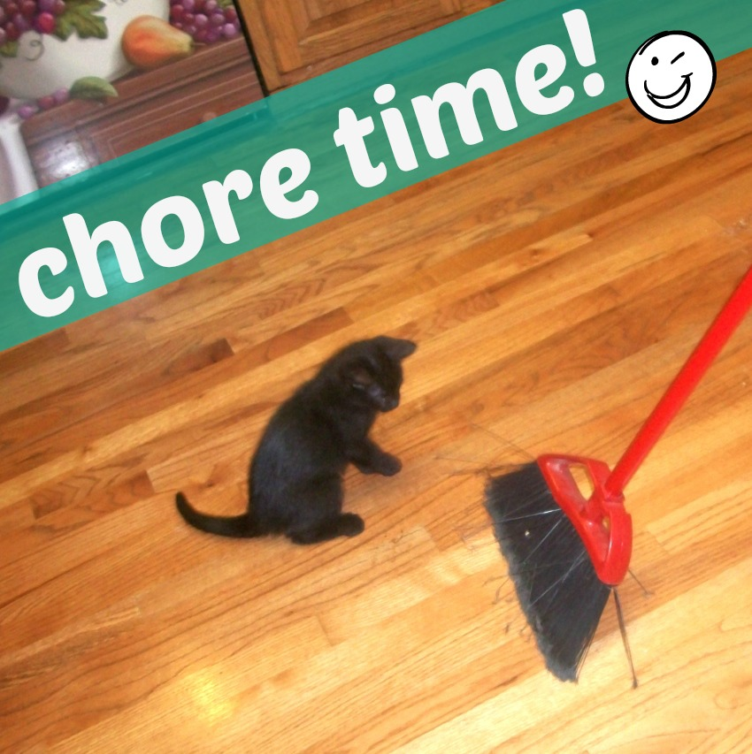 Chore Time Apron Strings & other things