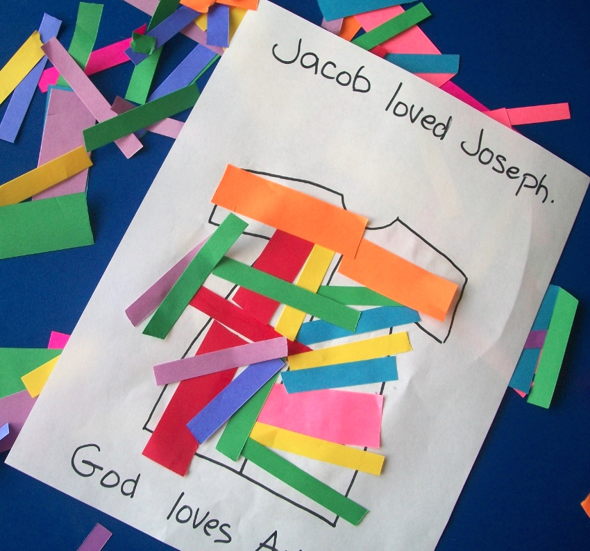 Joseph's Coat of Many Colors - Apron Strings & other things