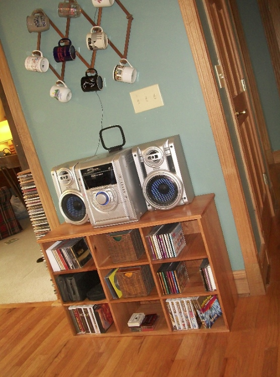new stereo cabinet