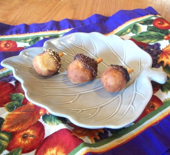 Acorn Donut Holes / Apron Strings & other things