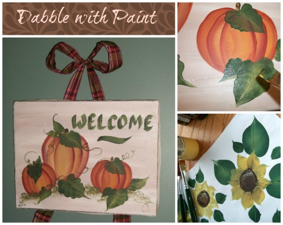 Autumn Painting / Apron Strings & other things