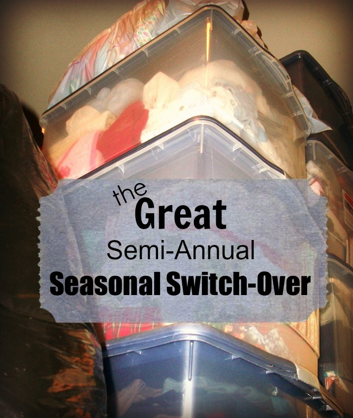 The Great Semi-Annual Seasonal Clothing Switch-Over