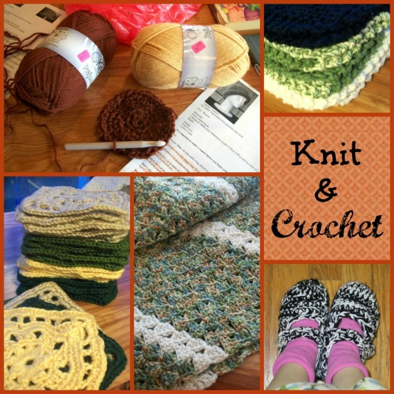 Knit and Crochet / Apron Strings & other things