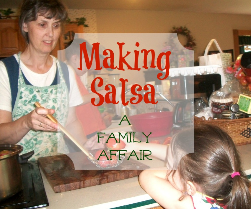 Making Salsa / Apron Strings & other things