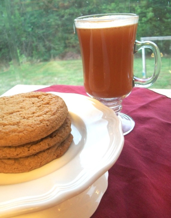 Old Fashioned Molasses Cookies with Hot Spiced Tea : Apron Strings & other things