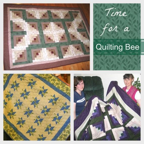 Time for a Quilting Bee / Apron Strings & other things