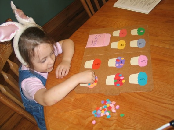 Preschool at Home - Apron Strings & other things