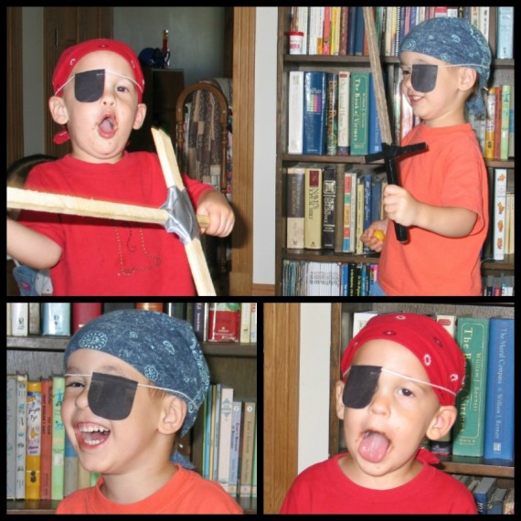 Preschool at Home Pirate Play - Apron Strings & other things