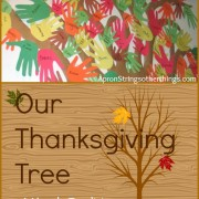 Our Thanksgiving Tree – A Yearly Tradition