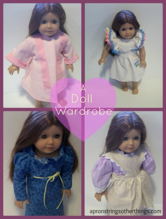 doll Collage apronstrings and other things