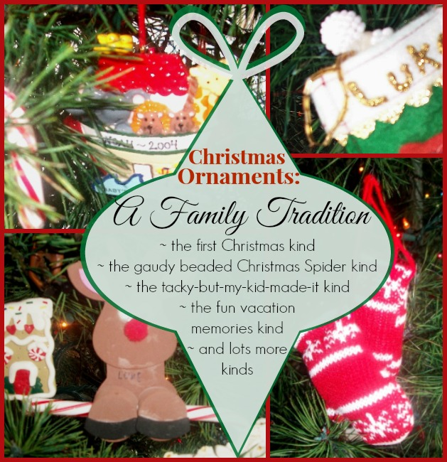 Christmas Ornament Tradition 1 | Apron Strings & other things