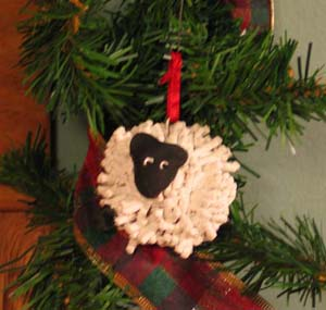 Jesse Tree Day 5 Isaac and the Lamb | Apron Strings & other things