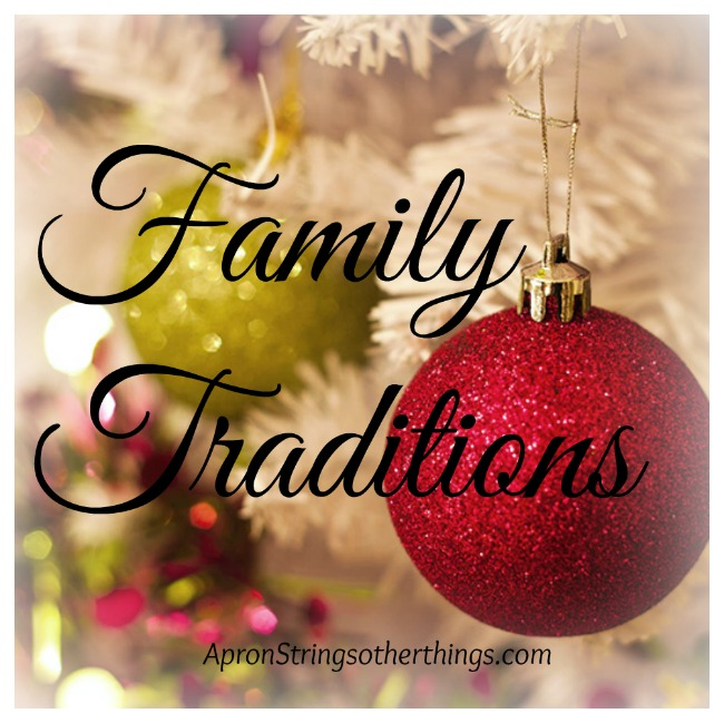 Family Traditions   Apron Strings & other things