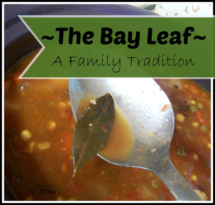 Family Traditions - Bay Leaf | Apron Strings & other things