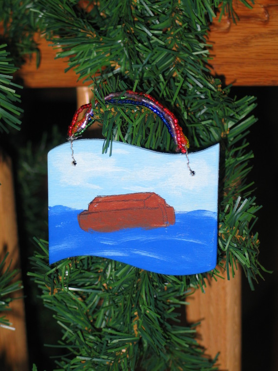 Jesse Tree Day 3 Inside the Ark | Apron Strings & other things