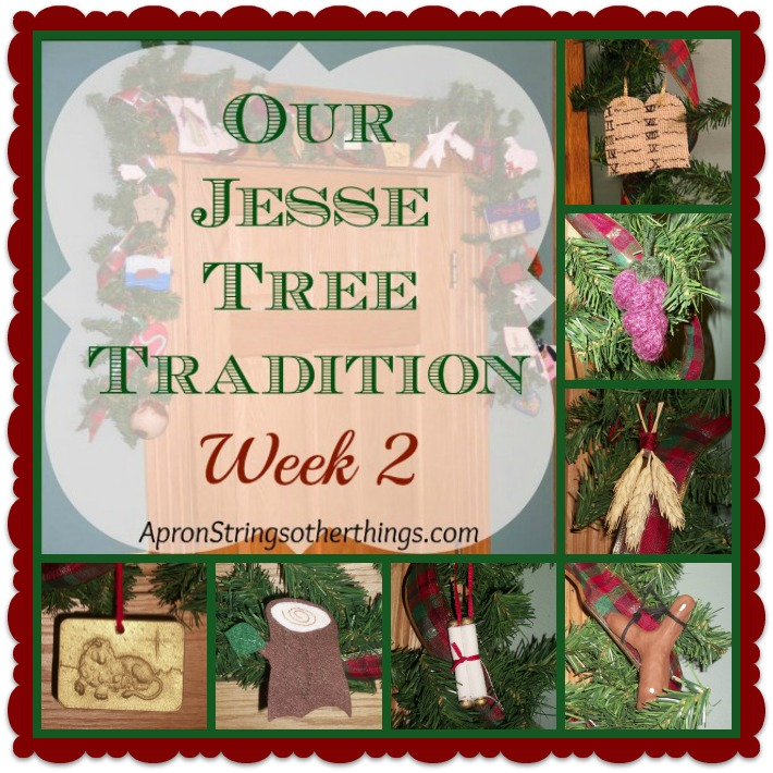 Jesse Tree - Week 2 | Apron Strings & other things