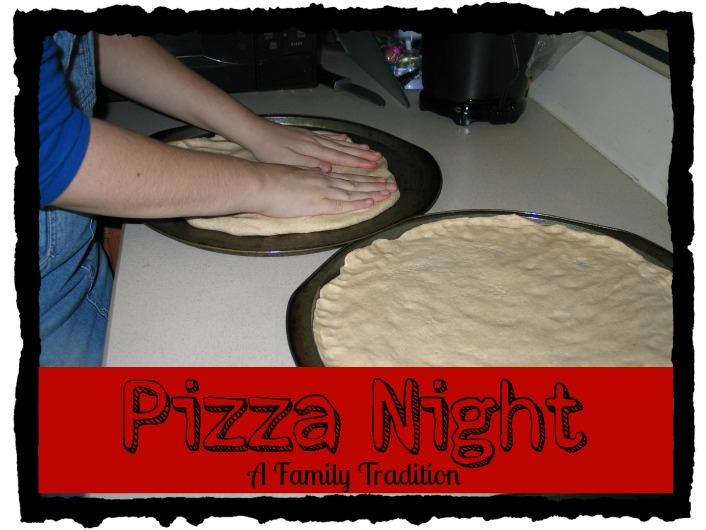 Pizza Night Family Tradition Apron Strings & other things