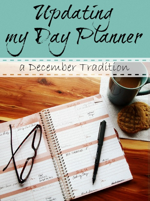 Updating Day Planner | Apron Strings & other things