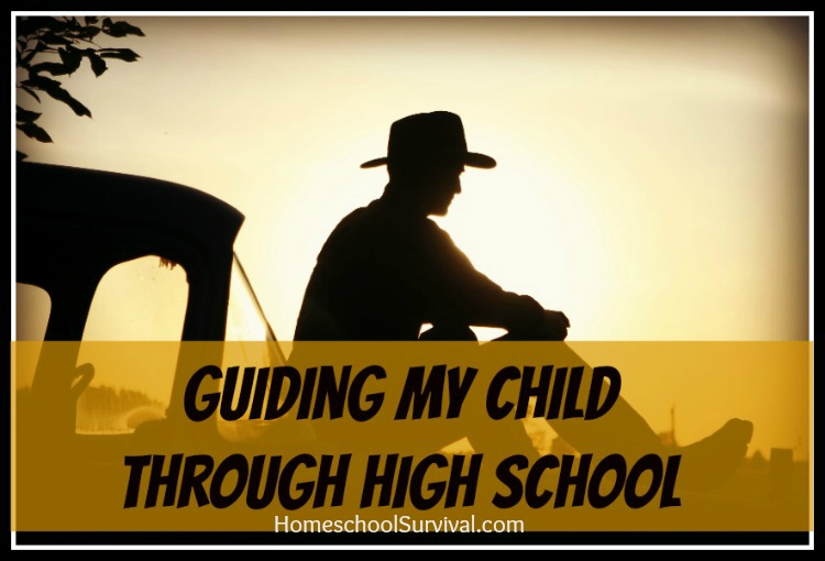 Guiding My Through High School  Homeschool Survival