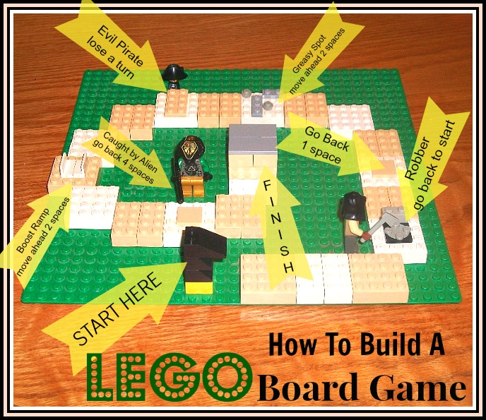 How to Make a LEGO Game Board