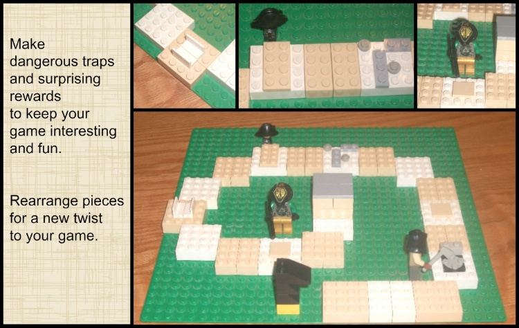 Lego Game | Apron Strings & other things