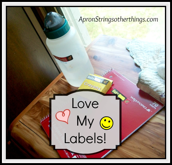 Love My Labels | Apron Strings & other things