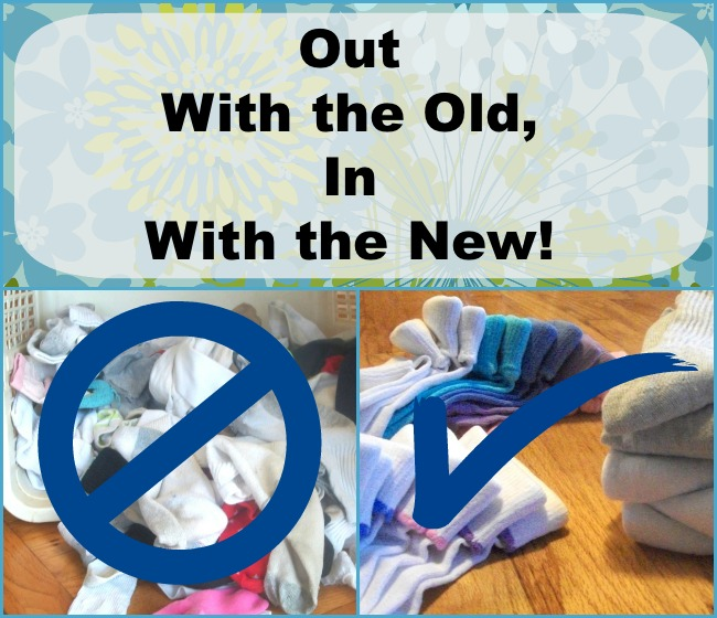 Out With The Old - Socks  Apron Strings & other things