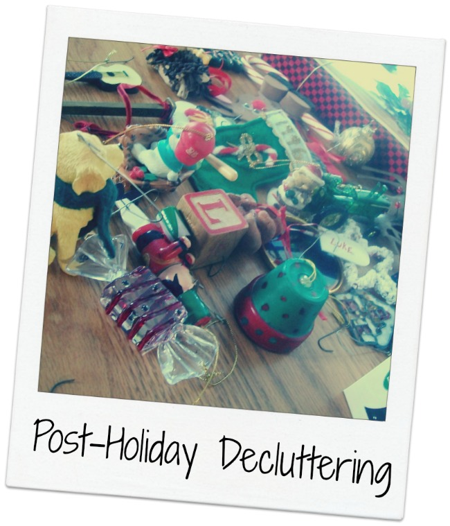 Post Holiday DeCluttering | Apron Strings & other things