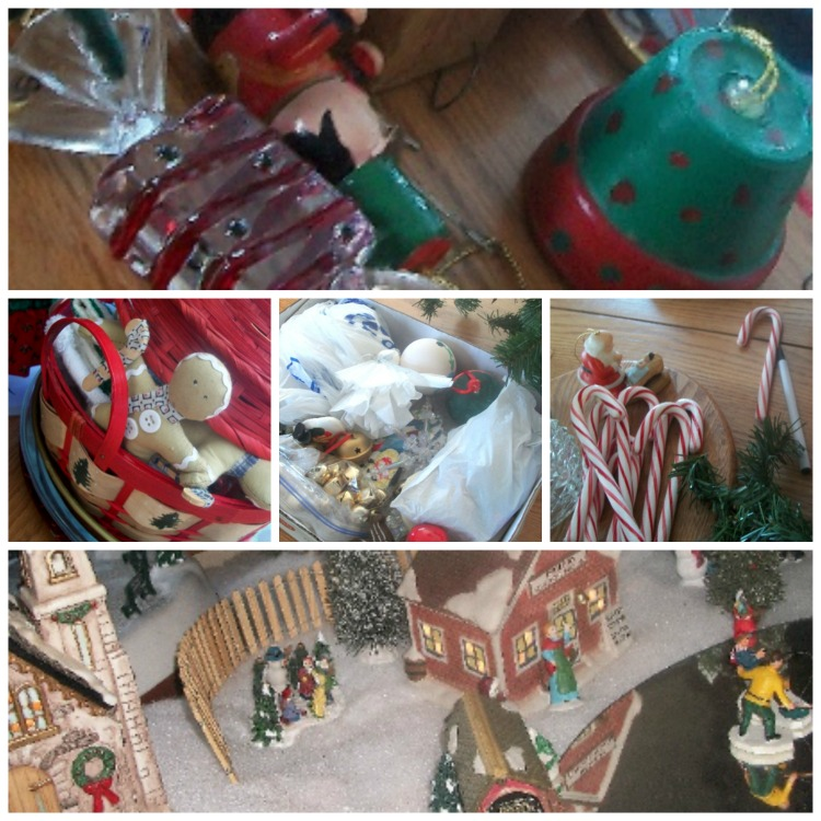 Post Holiday Ornament Declutter | Apron Strings & other things