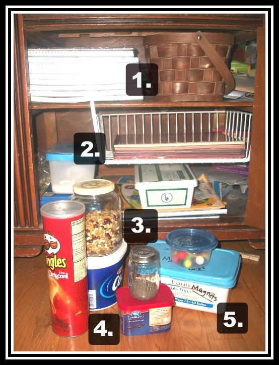 containers for organizing 2 | Apron Strings & other things