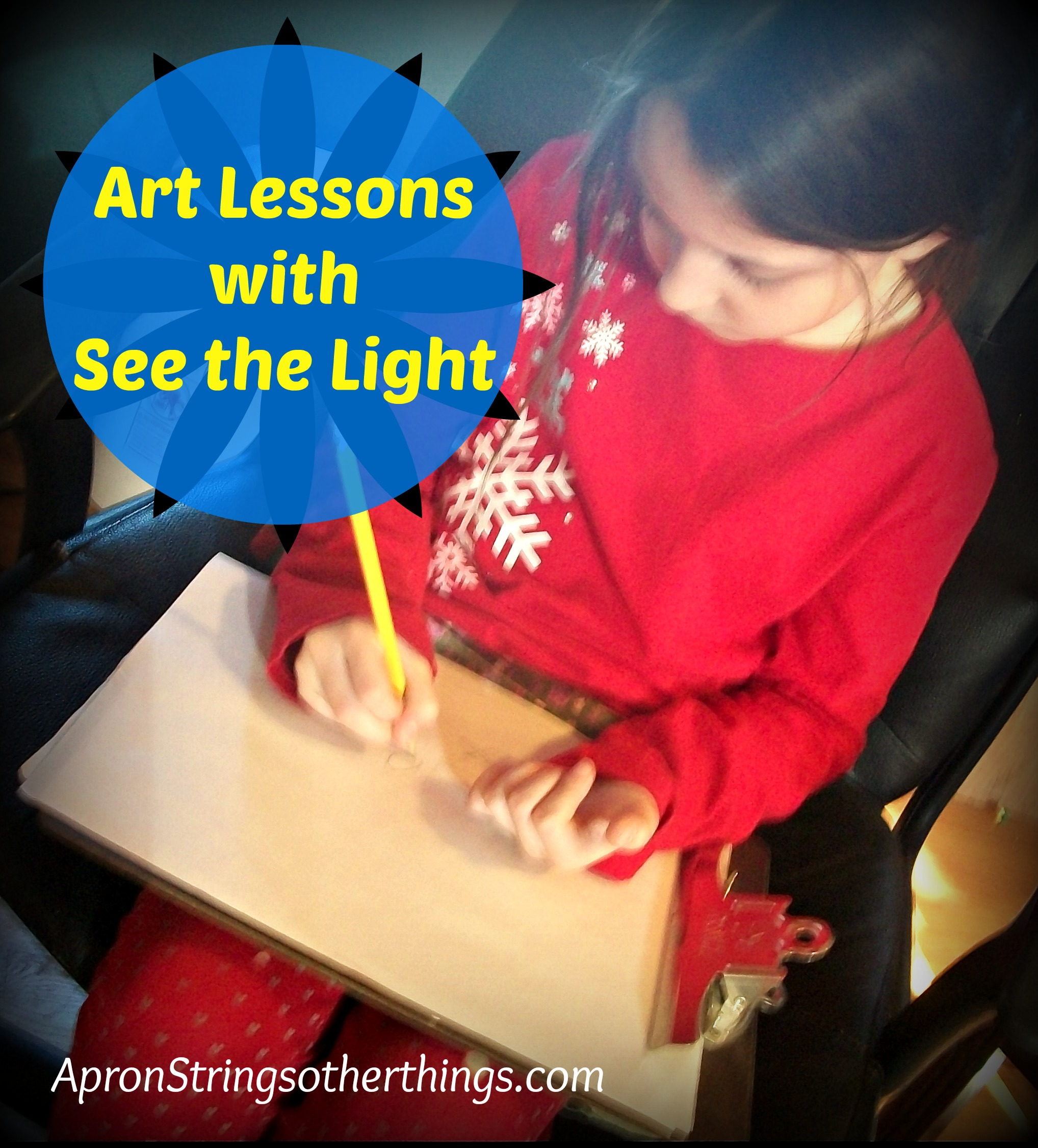 Art Lessons | Apron Strings & other things