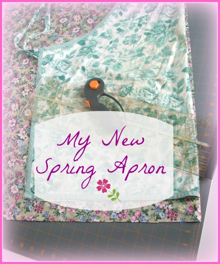 My New Spring - Apron  Apron Strings & other things