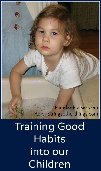 Training Good Habits | Apron Strings & other things