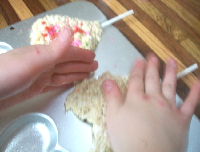 Valentine Rice Krispies 1