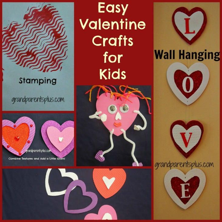 Vday crafts for kids