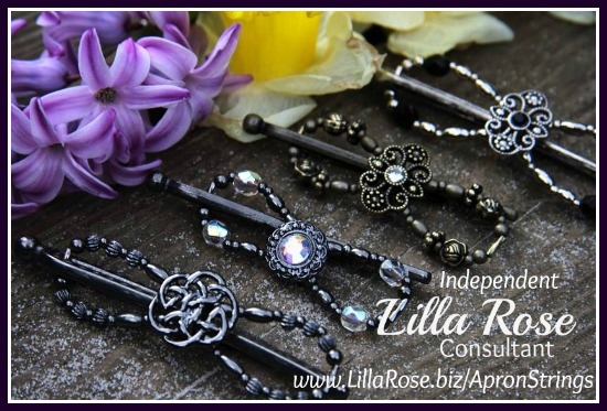Flexi Clips from Lilla Rose 1 - Apron Strings