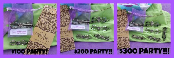 hostess party rewards Lilla Rose/Apron Strings